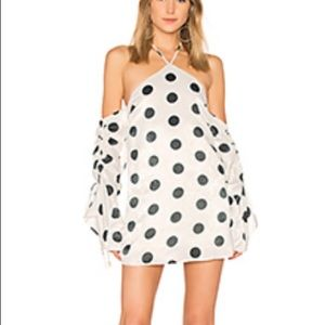 House of Harlow 1960 polka dot dress